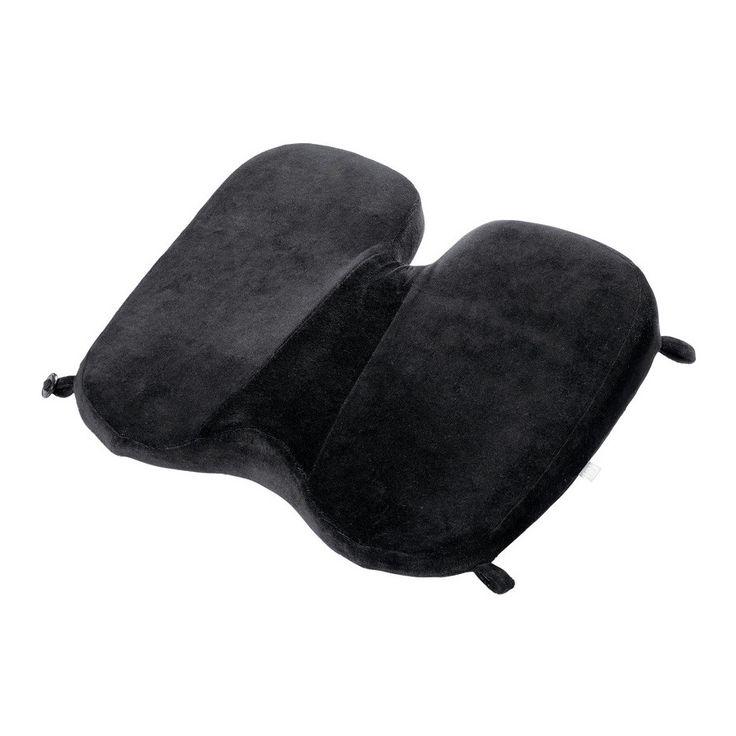 Go Travel Memory Soft Seat: Black - $37.50 $#softseat #travelsoftseat