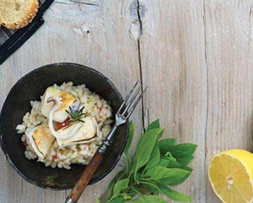 VISIT GREECE| Cuttlefish Pilaf #Sympossio #greekrecipes