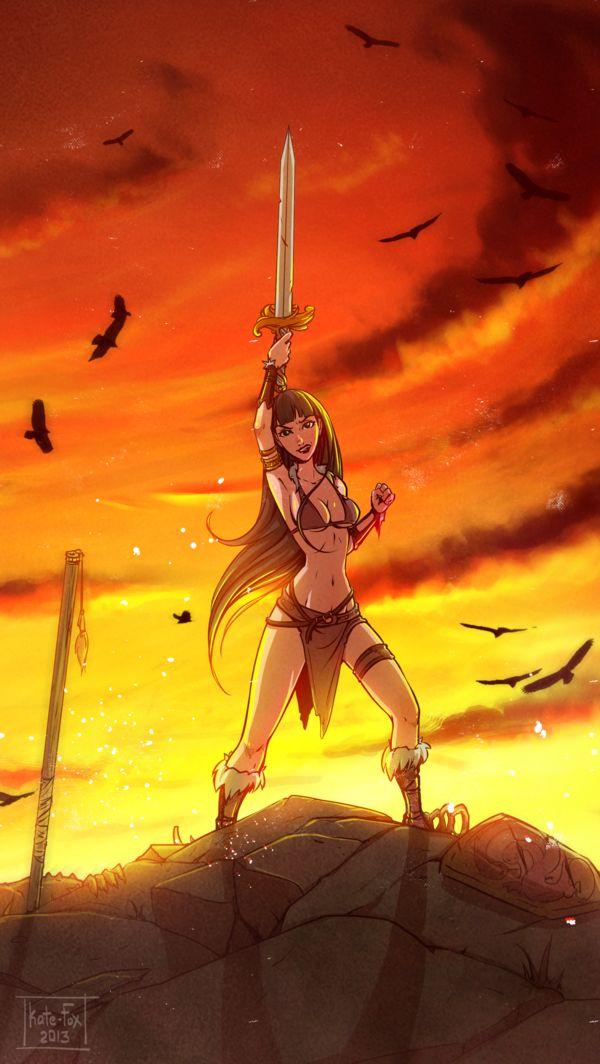 Warrior GirlFox Girl Warrior