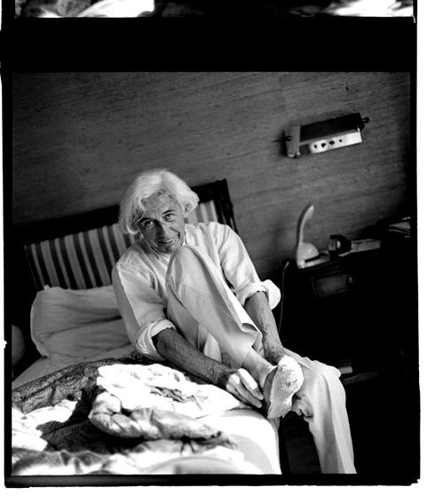 """The great French filmmaker Robert Bresson: """"Metteur en scène or director. The point is not to direct someone, but to direct oneself."""""""
