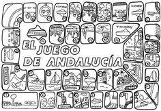 día de Andalucía juego para imprimir   Jugar y colorear