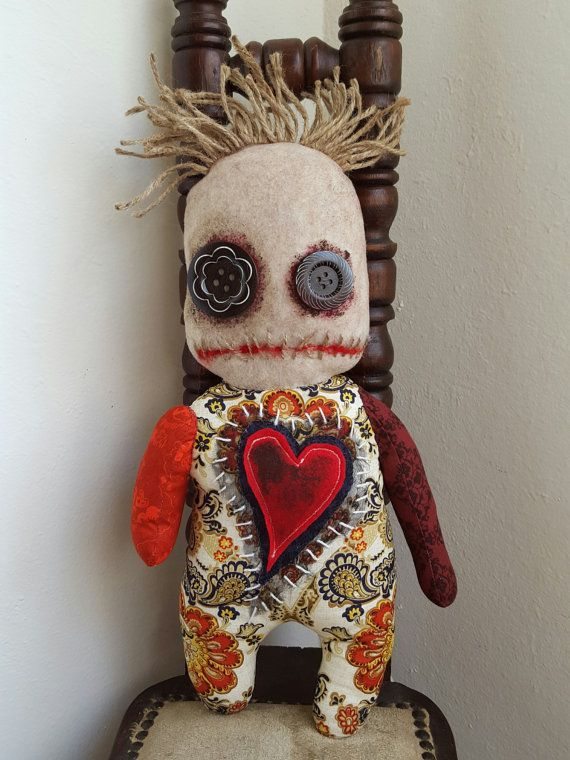 Handmade Voodoo Doll by MoodyVoodies on Etsy