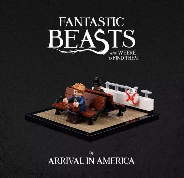 Pin By Corinas Kocherei On Fantastic Beasts And Where To Find Them Lego Hogwarts Lego Harry Potter Lego