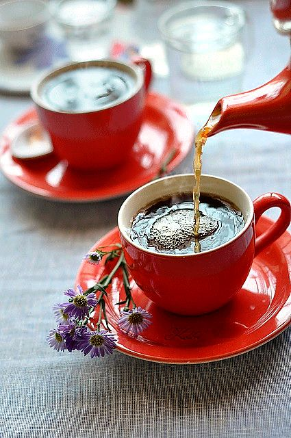 Чай кофе открытки гиф