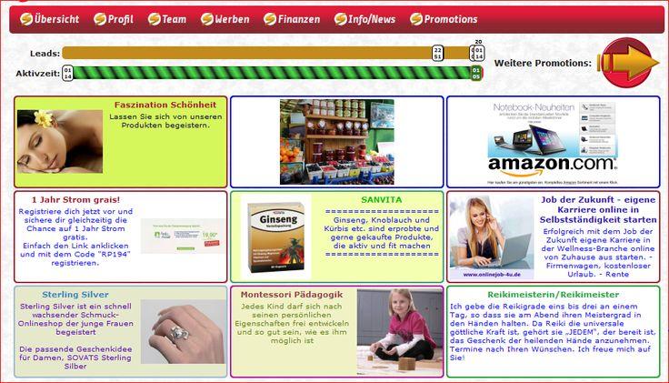 Deutsche Werbeplattform 3 Monate kostenfrei testen StarAd24: www.StarAd24.com/corinor