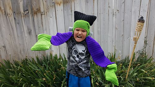 """New Pattern: He's Alive! """"Big Frank"""" is only $2.00 thru 8/28/16. No code needed. Discount in cart. Includes a variation to make regular kids too :) http://www.ravelry.com/patterns/library/big-frank-hat-and-scarf  https://m.facebook.com/story.php?story_fbid=1161360397271449&id=136880703052762&__mref=message"""