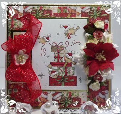 handmade card, Christmas, Wild Rose Studio, New Release