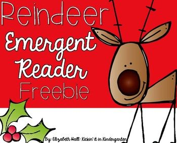 Use this reader to teach your students about reindeer! They can color, highlight picture words or sight words, label the reindeer and locate where they live on a map! This is a perfect resource for your little learners!