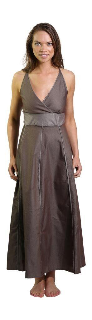 M138 Denim Balloon Dress