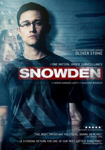 Snowden for Rent, & Other New Releases on DVD at Redbox