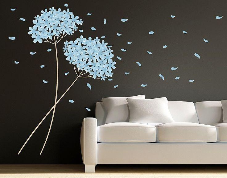 15 besten Wandsticker Bilder auf Pinterest Blumen, Wandtattoos - wandtattoos f r wohnzimmer