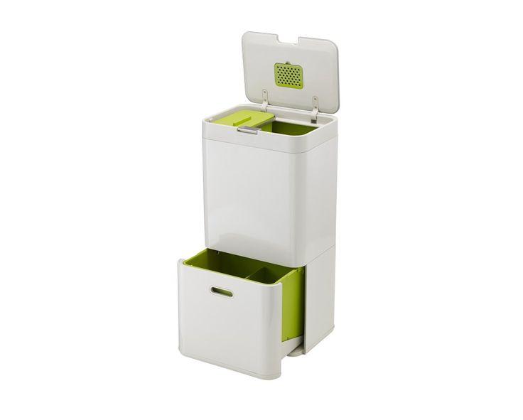Joseph Joseph Totem 60 | 60L waste and recycling bin