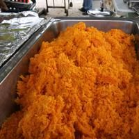 Rose s Chamorro Red Rice from Food.com:   This is a staple at all my Chamorro fiestas or barbeques.  It isn't a party without it.
