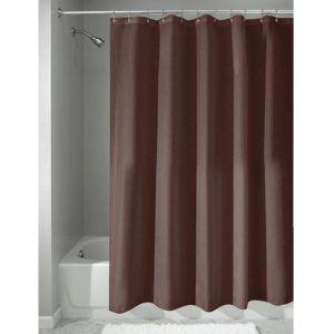 Maroon Vinyl Shower Curtain Liner