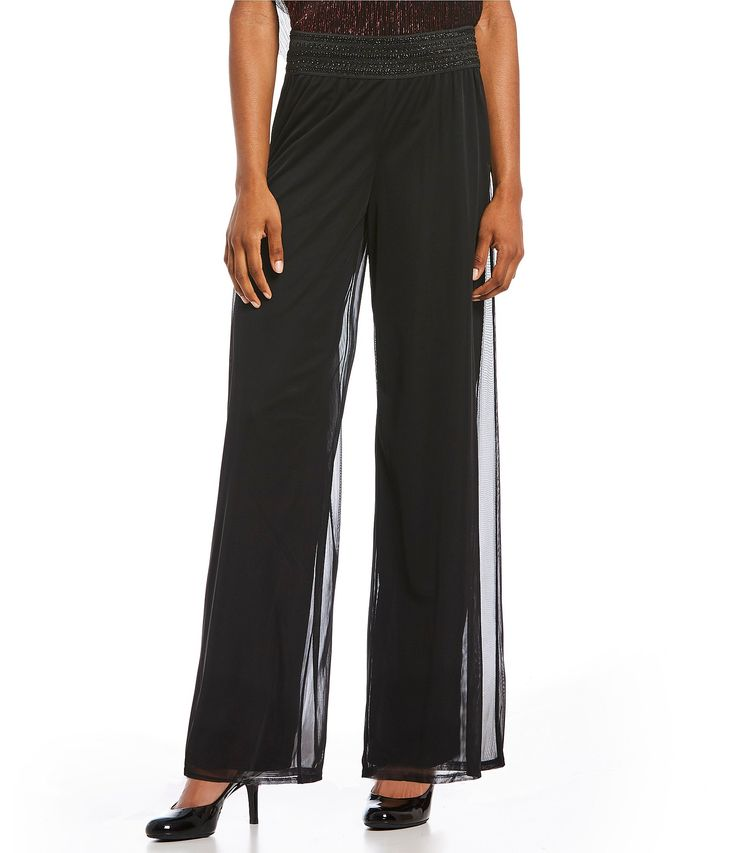 IN Studio PullOn Lace Waist Palazzo Pants #Dillards