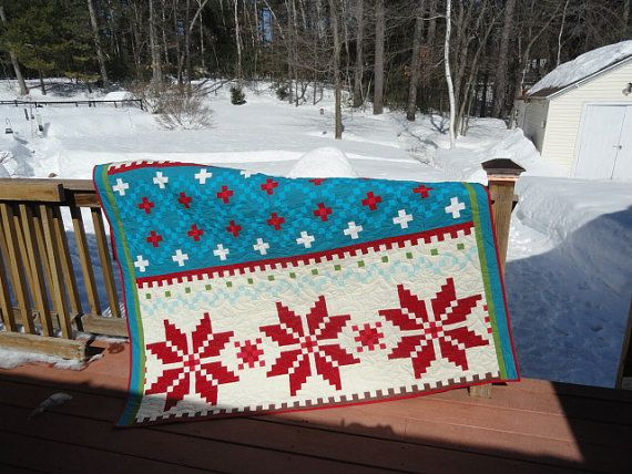 18 best Fair Isle Quilts images on Pinterest | Knitting, Charity ...