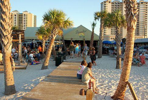 Paradise Beach Bar and Grill in Pensacola Beach, FL