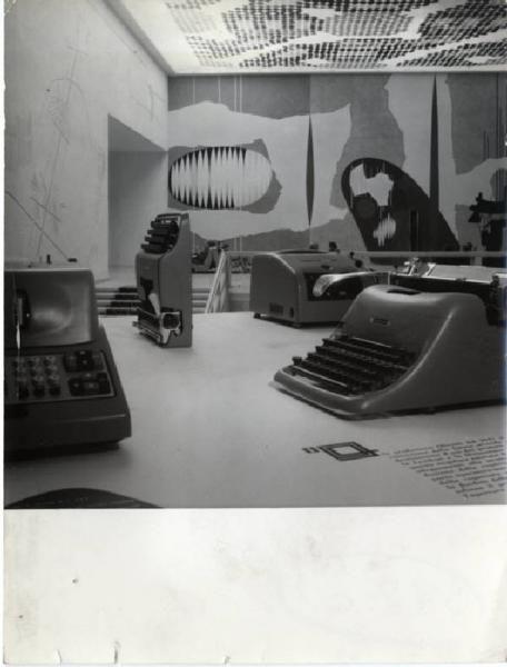 X Triennale - Mostra dell'industial design - Macchine per scrivere