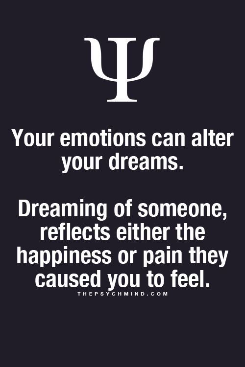 Imagini pentru psychological fact when you dream about someone