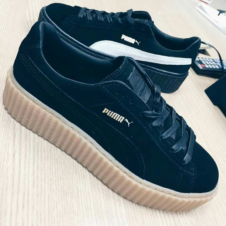 puma creeper navy blue