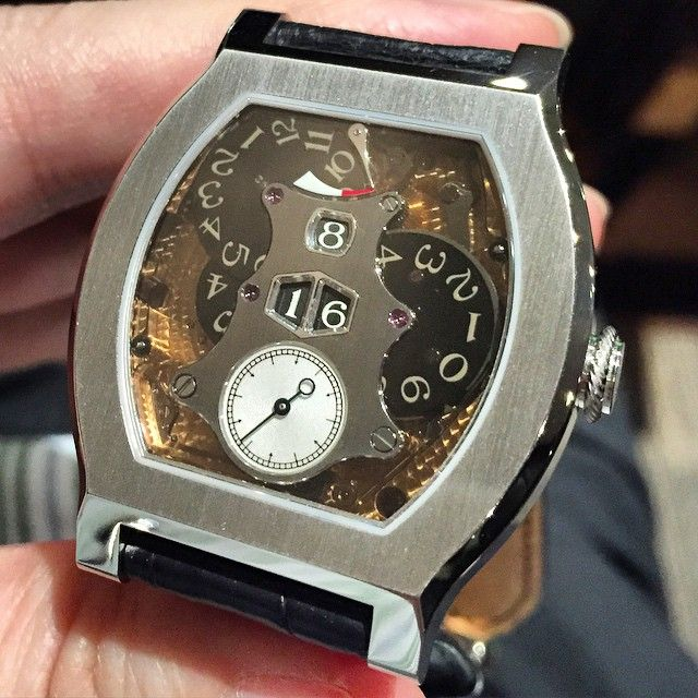 FP. Journe Vagabondage 2 platinum limited edition 69pcs. Jumping Digital!