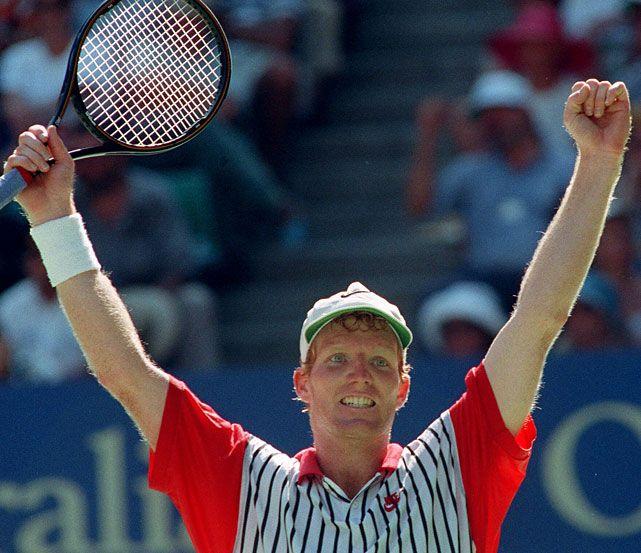 Jim Courier, 1992-93 Australian Open Champion.  #tennis