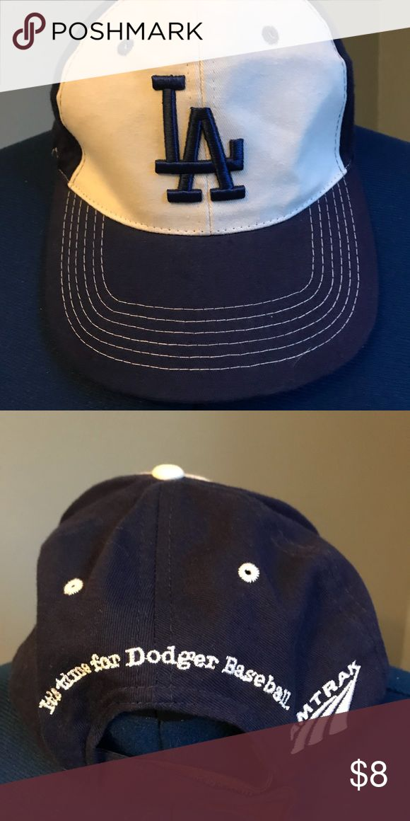 Women, Dodger, Baseball Cap 🧢 size small Size small, Dodger baseball cap 🧢, white and blue, embroidered Accessories Hats