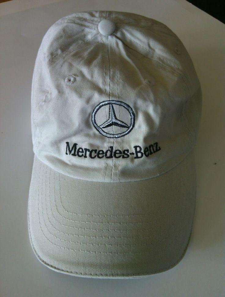 Mercedes Benz Baseball Cap Adjustable Hat Gray Curved Visor Cotton Autos AMG Car | eBay