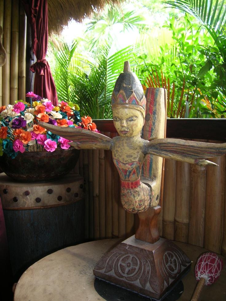 Bali decor at Puri Ahimsa Fivelements