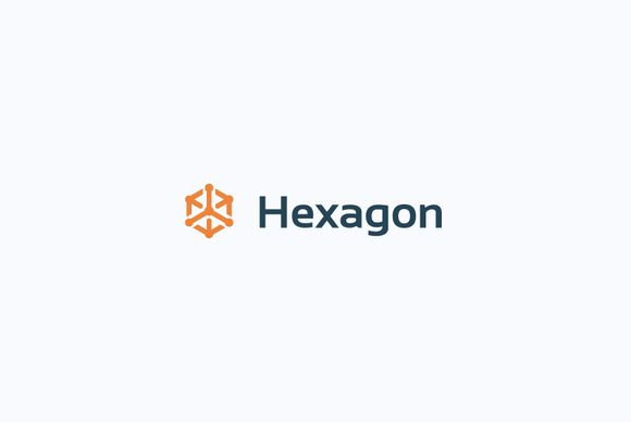 Hexagon logo by Vitalliy on Creative Market