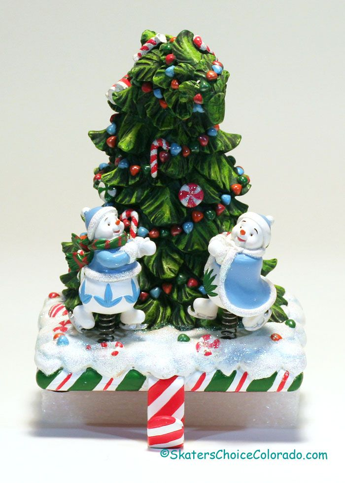 """Last One in STOCK! For That Special Person a Waterford Stocking Holder Music Box Music Box Plays """"Frosty The Snowman"""" Waterford Stocking Holder Size: 6 inches tall"""