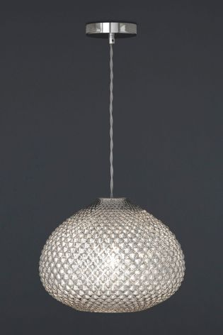 Glamour Glass Easy Fit Pendant