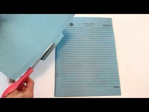 Tri-Fold Lapbook with Pocket Tutorial - YouTube by Confessions of Homeschooler (Erica Arndt)