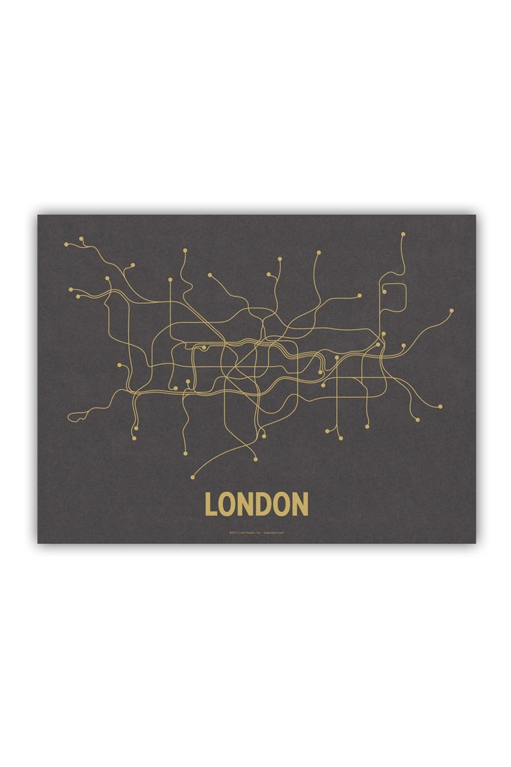 "London Underground Map. Anyone who has used the ""Tube"" appreciates the access it gives you to the wonderful city of London."