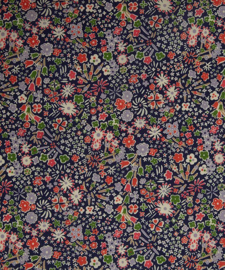 NEW SEASON! Liberty Art Fabrics Kayoko A Tana Lawn   Tana Lawn by Liberty Art Fabrics   Liberty.co.uk