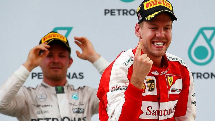Here          We         Bet: Sebastian Vettel beats Lewis Hamilton in Malaysia ...