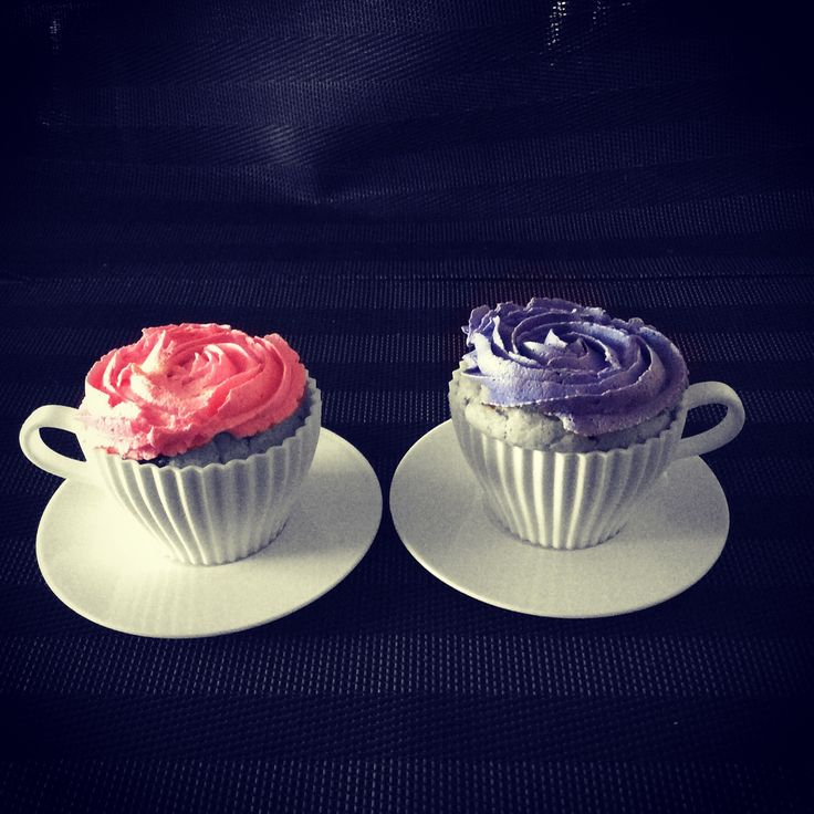 The real cup cake