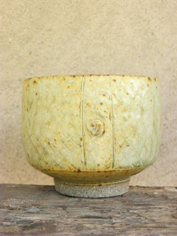 Tea Bowl - Ash glaze