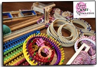Loom Knitting with Kristen. Free Patterns and Videos
