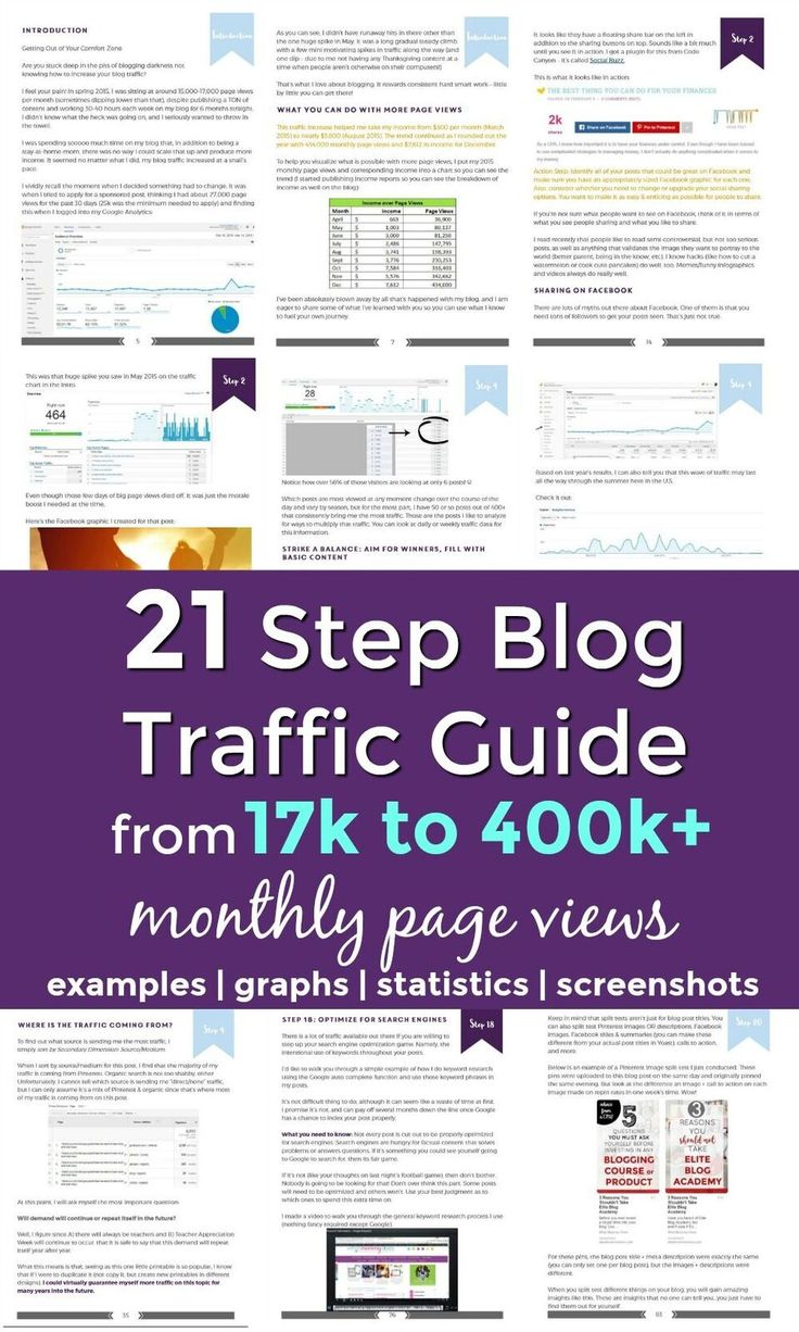 Are you ready to take your blog to the next level? This guide is full of strategies to help you grow your blog! * Increase page views * Increase traffic * (affiliate link)