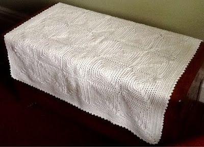 Crochet Cot Quilt