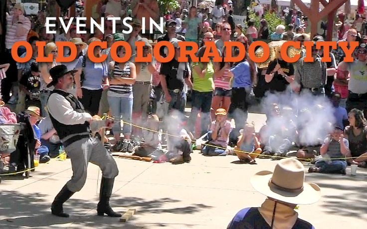 Old Colorado City Events & Festivals. So much family friendly fun things to do in the historic area of Colorado Springs Colorado known as Old Colorado City. Check out the calendar at this link.