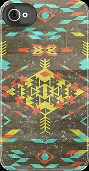 Warm Aztec  by cynthisonfire