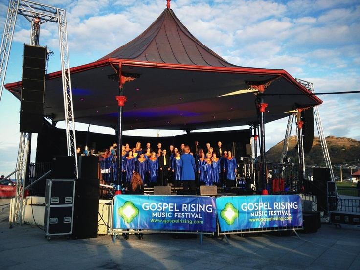 Gospel Rising Music Festival. A fun, energetic and inclusive event calling on all gospel music enthusiasts to celebrate the continued rising of gospel music in Ireland through workshops and free concerts over a jam packed weekend festival.