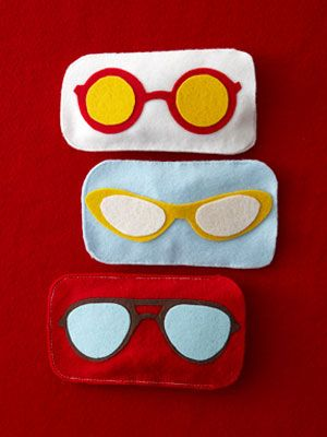 Eyeglass Cases Template