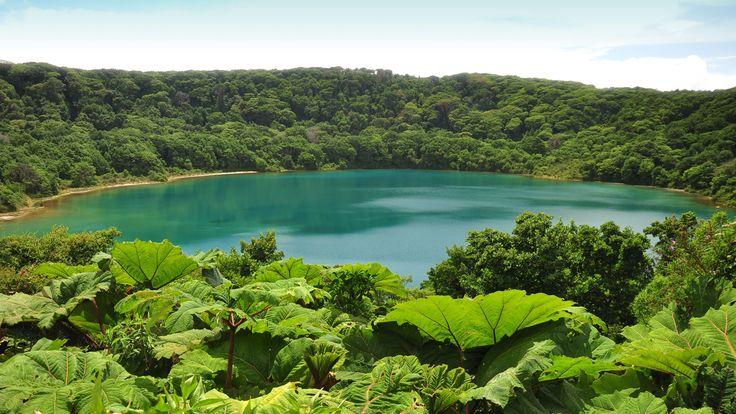 Lago Botos, Cráter del Volcán Poás, Costa Rica | Lagos y ...
