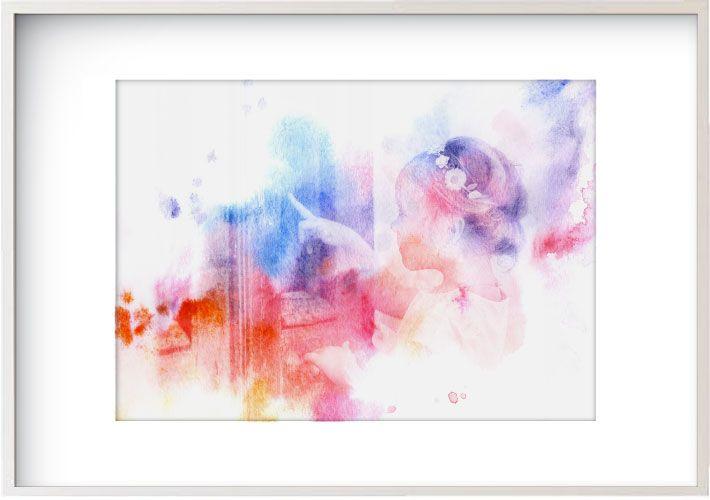 Watercolour Wash - Rainbow  www.mynarrartive.com