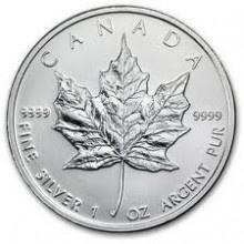Zilveren Munten Kopen kan bij Dutch Bullion, zoals deze Maple Leaf 1 troy ounce 2012 Zilveren Munt. Voor een overzicht van al onze zilveren munten kunt u kijken op: https://www.dutchbullion.nl/Zilver-Kopen/Zilveren-munten/
