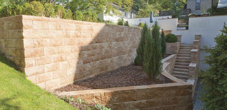 Vertica® Mauer von Rinn Betonsteine und Natursteine