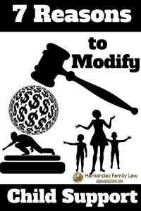 In Arizona, before you can modify child support, you have to show the court there has been a substantial and continuing change in circumstances. What constitutes a substantial and continuing change? In this article, we give you several things that do. Read this post for 7 reasons to modify child support: http://www.hernandezfirm.com/modify-child-support/  #childsupport #arizonachildsupport #childsupportlaws